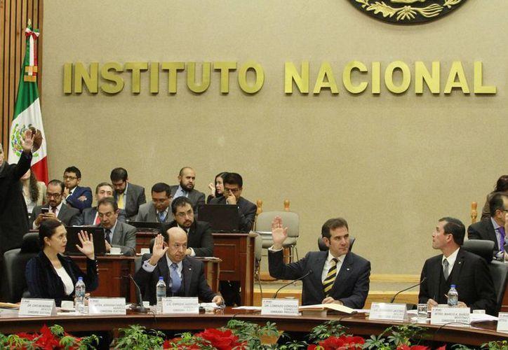El Instituto Nacional Electoral determinó que se hará público el ejercicio de su presupuesto cada tres meses. (Notimex)