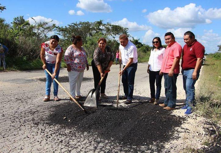 Finalizaron los trabajos en tramos carreteros. (Raúl Balam/SIPSE)