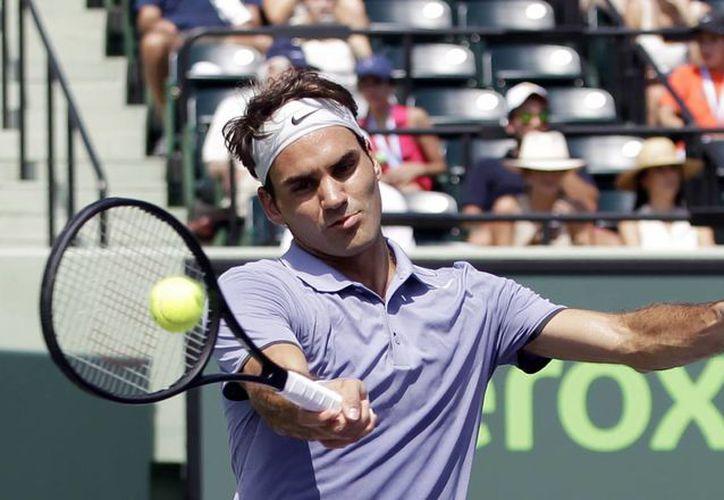 En octavos de final de Torneo Masters 1,000 de Miami Roger Federer se enfrentará a Richard Gasquet, quien ganó su pase al derrotar a Kevin Anderson por 6-3 y 6-4. (Agencias)