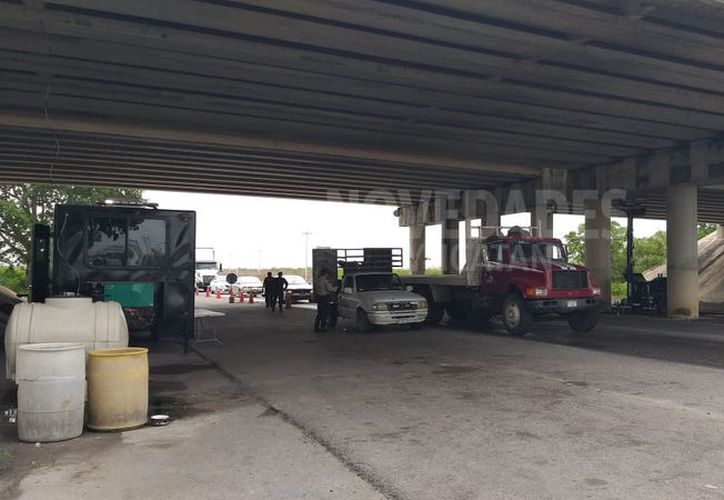 La detención se realizó en el retén de Teya. (Novedades Yucatán)