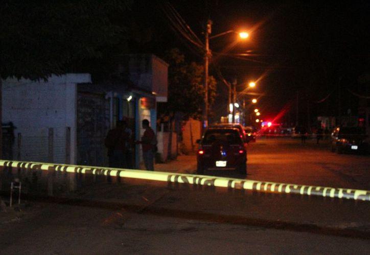Los hechos se dieron a conocer la noche del pasado miércoles en el fraccionamiento La Guadalupana. (Redacción/SIPSE)