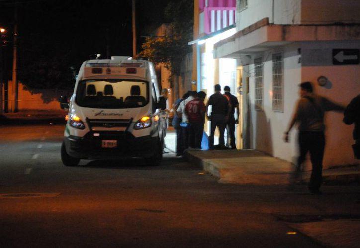El homicidio se registró la noche del martes. (Eric Galindo/SIPSE)