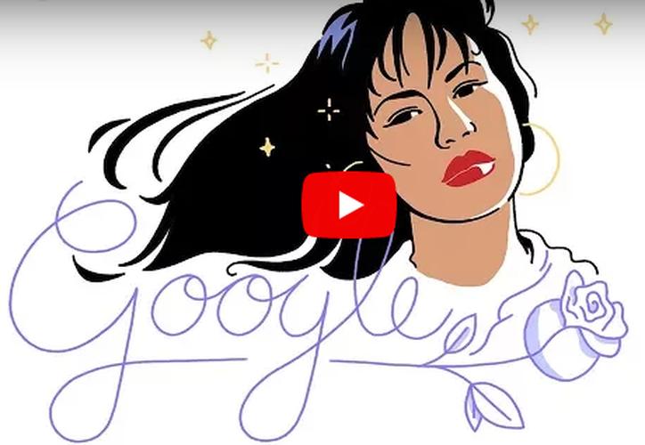 Selena Quintanilla fue la máxima superestrella de la música texana. (Captura YouTube).