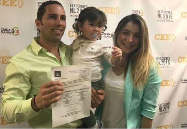 Poncho se registró como candidato a la diputación del distrito 1, para el PVEM. (Foto: Twitter)