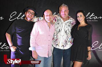 Música y entretenimiento en Elton Dueling Pianos Cancun