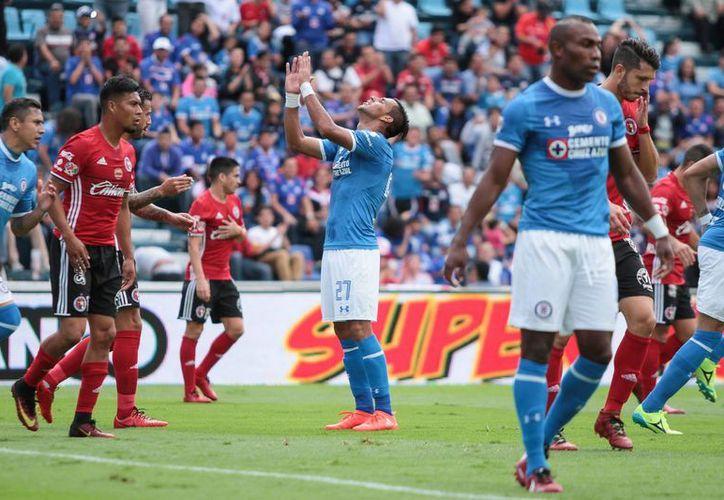 La jornada cuatro inicio con la derrota azul ante unos Xolos que mostraron buen futbol. (Notimex)