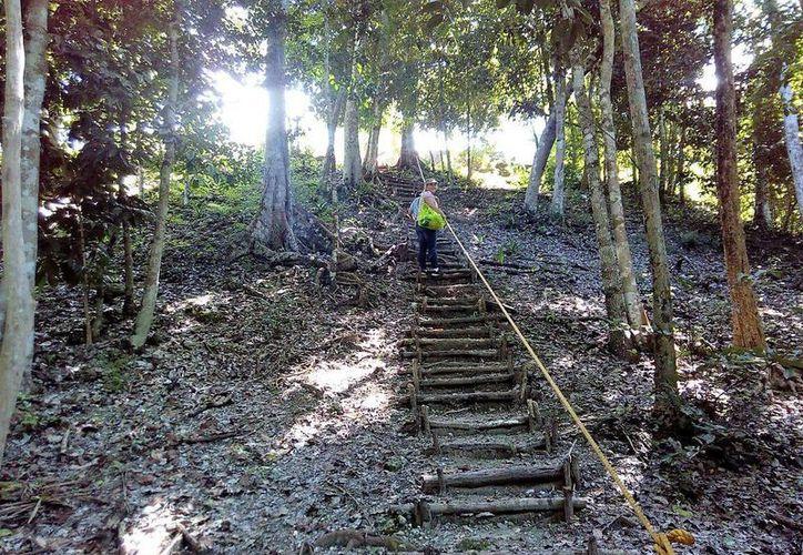 Esta situación podría atrasar la apertura al público de la zona arqueológica. (Redacción/ SIPSE)