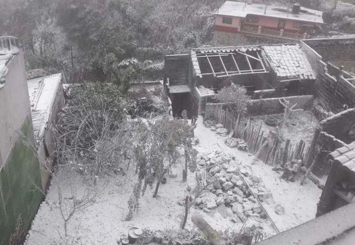En los municipios de Miahuatlán y Landero y Coss, en Veracruz se reportó caída de nieve. (Foto: DateCam Google Play)