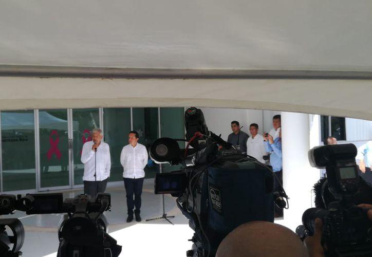 El presidente electo de México, Andrés Manuel López Obrador, visitó hoy Cancún como parte de su Gira de Agradecimiento. (Redacción/SIPSE)