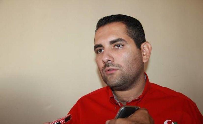 Uriel Chávez Mendoza, alcalde de Apatzingán, Michoacán. (Foto: enteratemichoacan.com.mx)