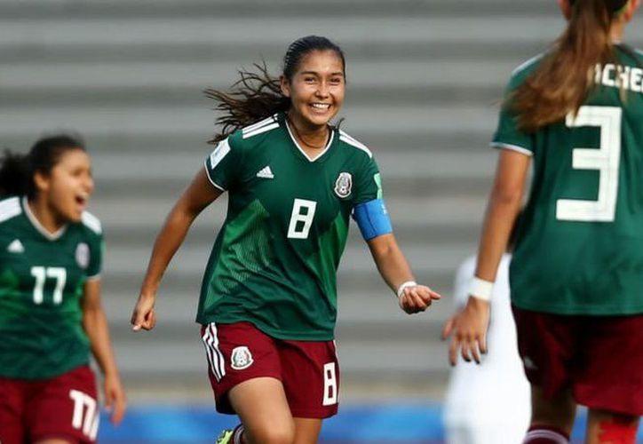 Los goles en tiempo reglamentario del cuadro mexicano fueron obra de Nicole Pérez a los minutos 61 por la vía del penal y al 82. (Internet)