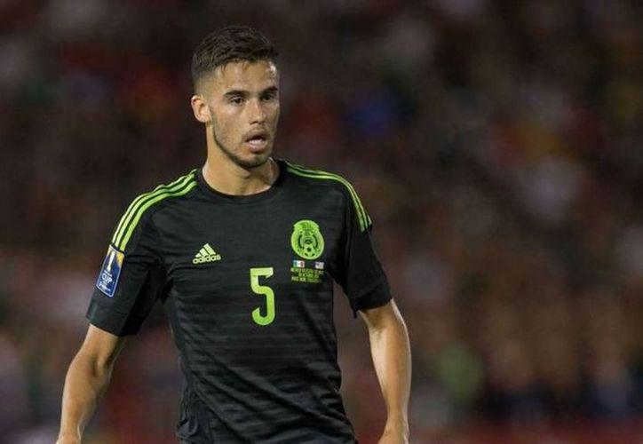 Diego Reyes entrenó de nueva cuenta con el resto de la Selección Nacional que se prepara para el Mundial de Rusia. (Vanguardia MX)