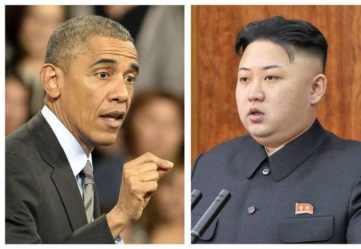 Obama autorizó el viernes sanciones contra el régimen norcoreano liderado por Kim Jong-un. (EFE)