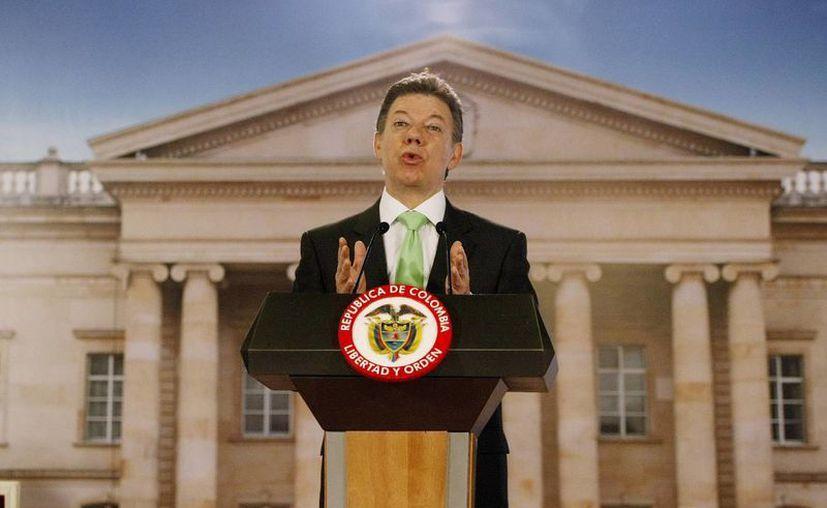 Santos afirmó que jamás se prestaría a sugerir una reforma constitucional en beneficio propio. (EFE)