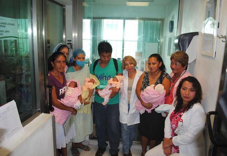 Dos menores estuvieron en terapia intensiva neonatal. (Redacción/SIPSE)
