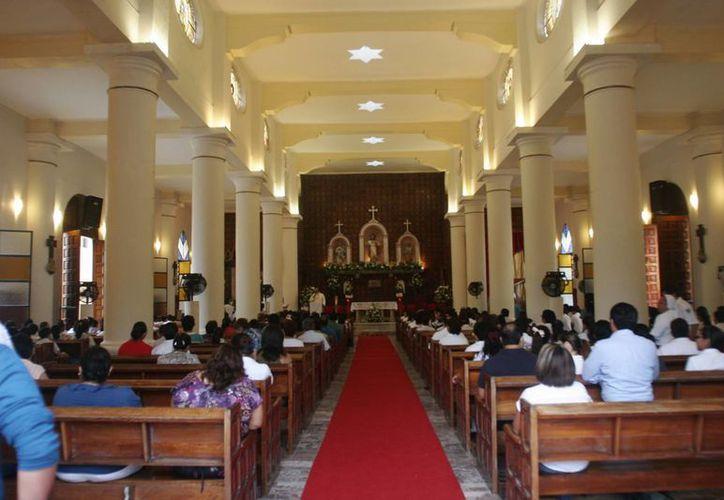 Los hechos ocurrieron en la catedral del Sagrado Corazón de Chetumal. (Harold Alcocer/SIPSE)
