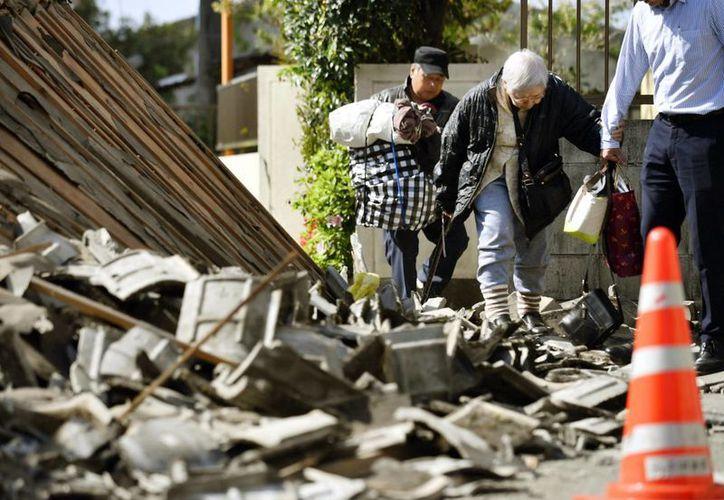 Las autoridades japonesas descartaron el riesgo de sismo tras el sismo de magnitud 6.5 registrado el jueves por la mañana. (AP)