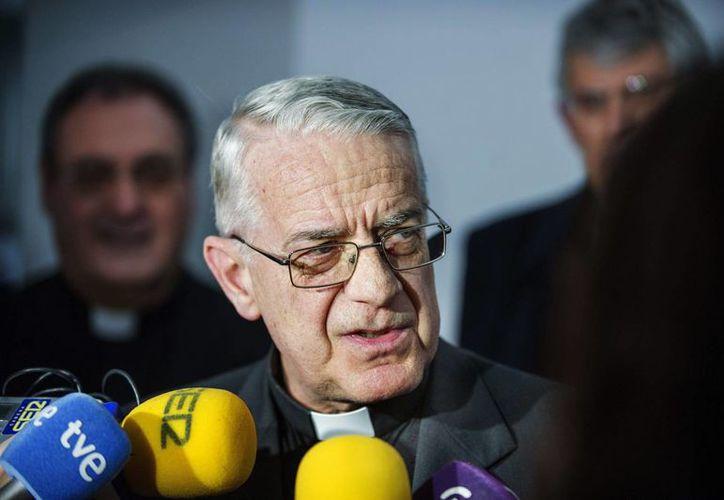El jesuita Federico Lombardi, portavoz y director de la Oficina de Prensa de la Santa Sede y director de Radio Vaticana. (Archivo/EFE)