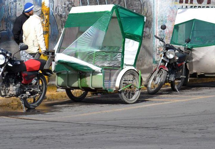 Moto taxis en la Ciudad de México. (Foto: López Dóriga Digital)
