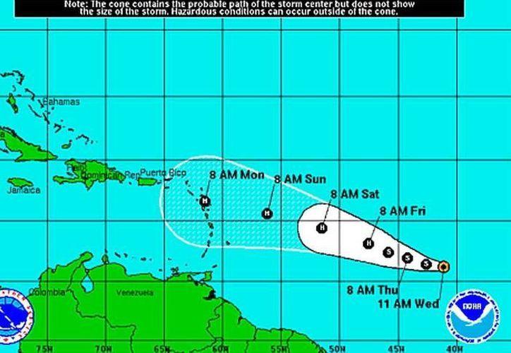 Realizan el monitoreo constante de la Tormenta Tropical 'Danny'. (Redacción)