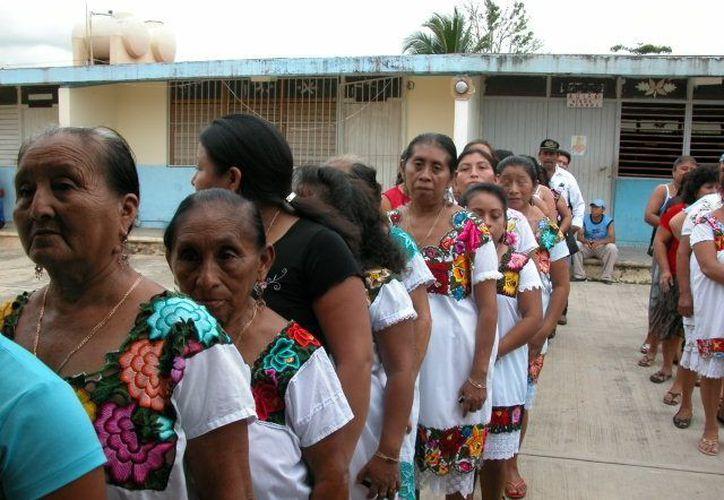El Comisariado Ejidal serviría de aval a las mujeres para que sus intenciones sean capitalizadas. (Manuel Salazar/SIPSE)