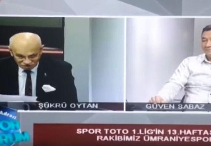 El momento fue grabado por las cámaras del canal 26 de la provincia turca de Eskisehir. (Captura de video)