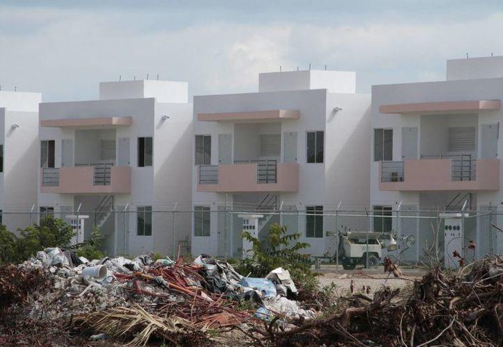La demanda de viviendas en Quintana Roo va a buen ritmo. (Israel Leal/SIPSE)