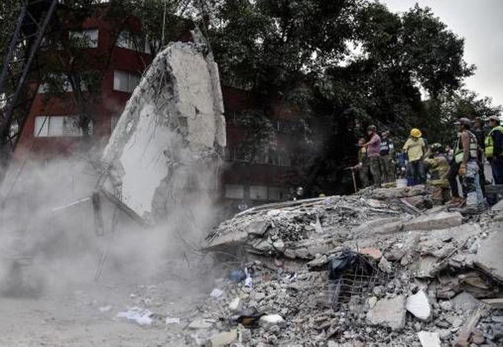 La joven Alejandra murió en el derrumbe del edificio de Torreón y Viaducto, donde alguien tomó su tarjeta de débito. (Foto: SDP)