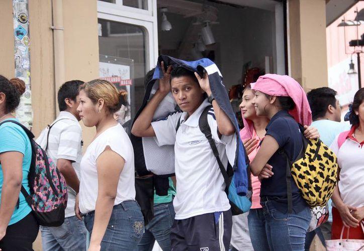 Mientras que este miércoles el reporte de lluvias en Yucatán fue 'inapreciable', para hoy se esperan precipitaciones menores. (SIPSE)