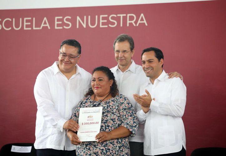 Con los recursos, los comités decidirán qué obras escolares se realizarán. (Novedades Yucatán)