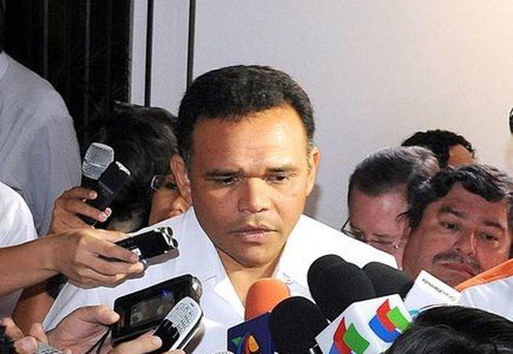 El gobernador de Yucatán, Rolando Zapata Bello, destacó el crecimiento que registran diversos sectores de la economía. (SIPSE)