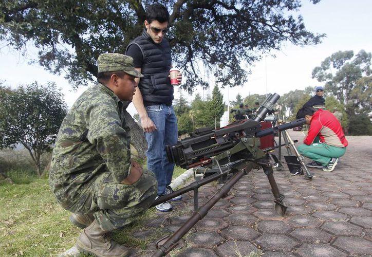 La Secretaría de la Defensa Nacional calcula que existe una tendencia al alza en la demanda de municiones. (Archivo/Notimex)