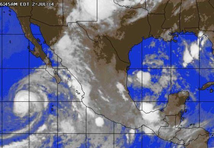 Se prevén lluvias de menor intensidad en Quintana Roo. (Foto/www.accuweather.com)