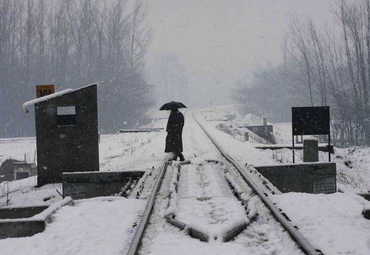 Aunque el frío en la India no llega a ser extremo, afecta gravemente a miles de indigentes. (EFE)