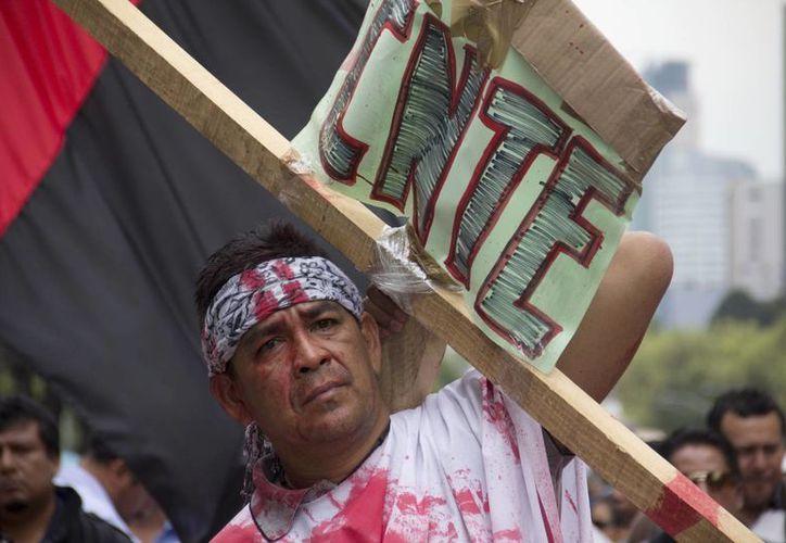 La Iglesia católica  mexicana pide a los maestros defender el ejercicio de su vocación antes que otros intereses. (Archivo/SIPSE)