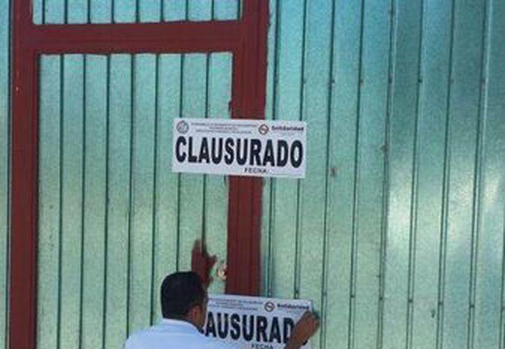 Siete comercios han sido clausurados durante la primera quincena del año. (Octavio Martínez/SIPSE)