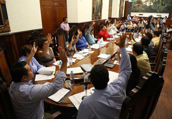 La sesión de Cabildo de este martes. (Cortesía)