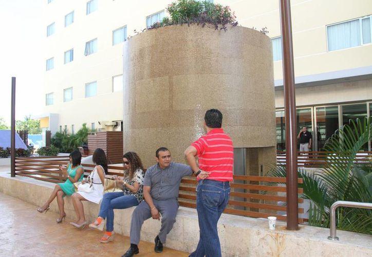 El turismo regional representa 20% de la ocupación anual para los hoteles del centro. (Tomás Álvarez/SIPSE)