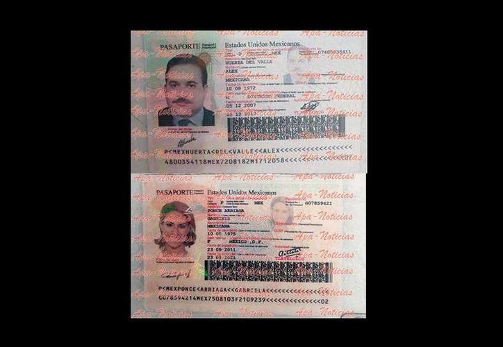Los pasaportes, que serían entregados al gobernador con licencia de Veracruz, Javier Duarte y a sus esposa, fueron decomisados el pasado 11 de noviembre en el Aeropuerto Internacional de Tapachula, Chiapas. (twitter.com/jenarovillamil)