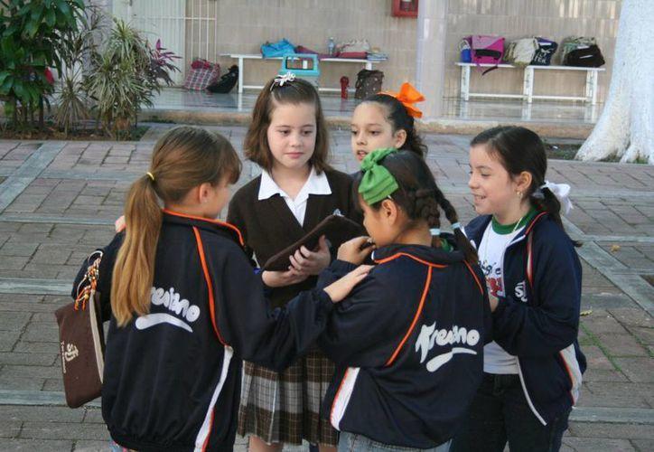 El programa de certificación de medio ambiente consiste en que los alumnos participan en actividades y dinámicas, donde ponen en práctica la separación de residuos. (Milenio Novedades)