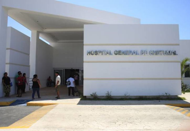 El menor fue declarado con muerte cerebral en el Hospital General de Chetumal. (Redacción/SIPSE)
