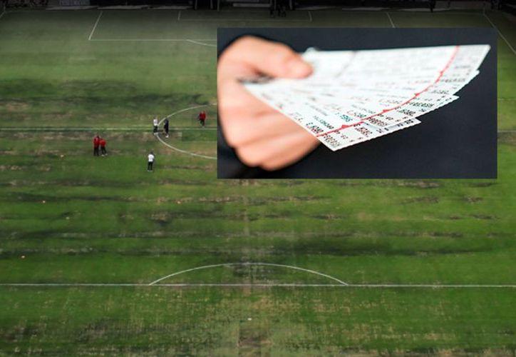 Adquirió cada uno de los boletos en cinco mil pesos con personal del Estadio Azteca y pretendía venderlos hasta por 15 mil pesos cada ticket. (Vanguardia MX)