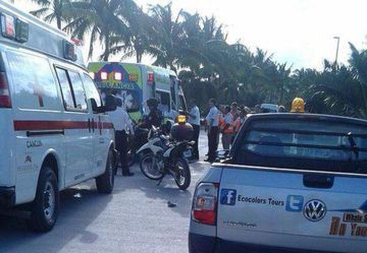 Un hombre de 30 años de edad perdió la vida luego de ser atropellado en la inmediaciones de Puerto Cancún.  (Redacción/SIPSE)