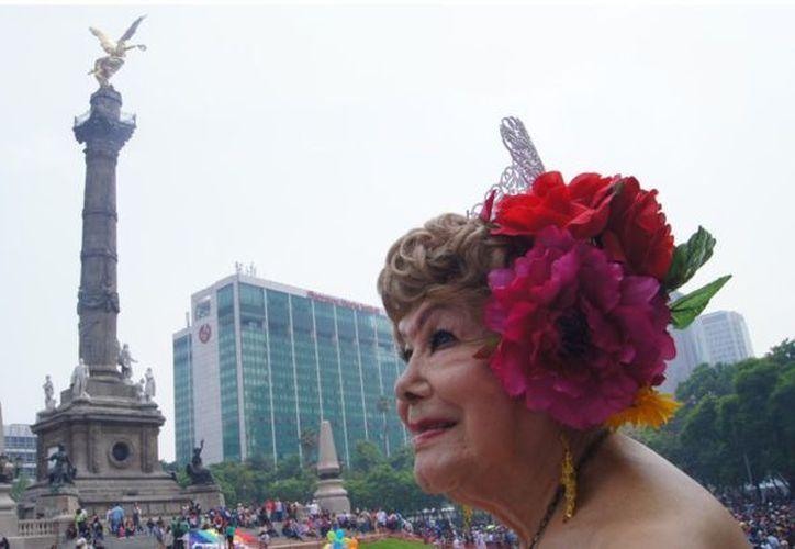 Samantha Flores una luchadora social desde hace más de 20 años. (Foto: El Comercio)