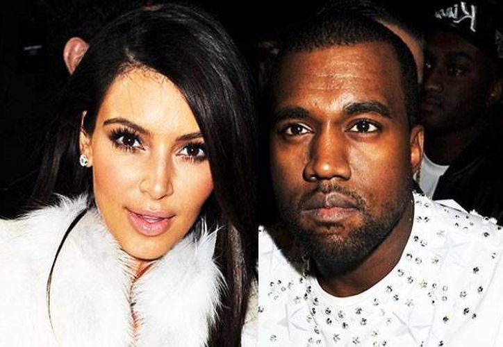 Hace tan sólo 23 meses,Kim Kardashian y Kanye West fueron padres por primera vez de una niña  (AP)