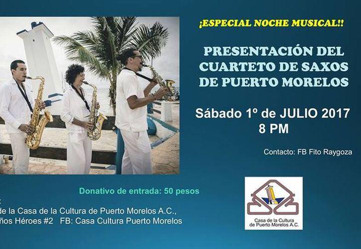 El evento está programado para el próximo sábado 1 de julio, en punto de las 20 horas.  (Faride Cetina/SIPSE)