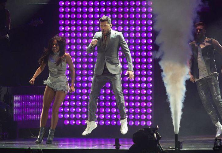 Ricky Martin se encuentra inmerso en su gira 'One world', que llegará a México los días 18, 19 y 20 de junio. (Notimex)