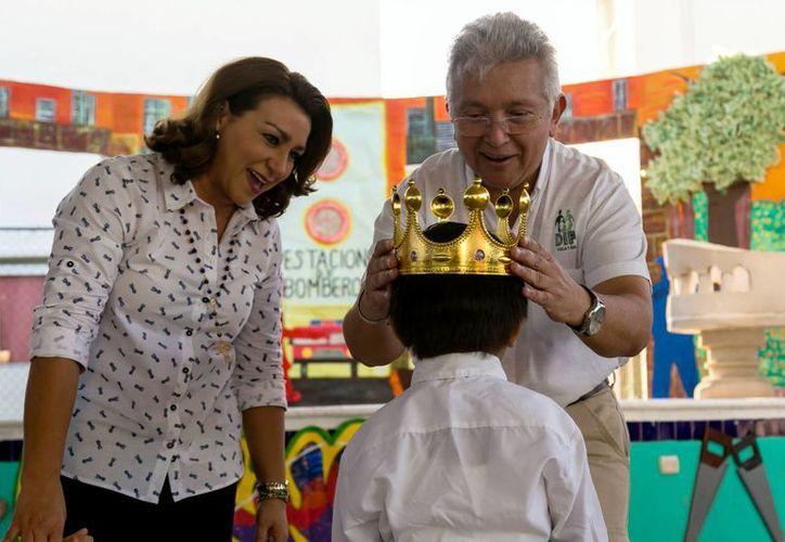 En el Centro de Atención Integral al Menor en Desamparo (Caimede) se realizó un concurso de comparsas tan alegre como tierno. (Fotos cortesía)