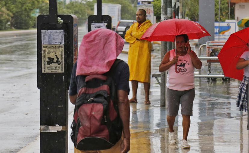 Las autoridades pronostican más precipitaciones pluviales en las próximas horas. (Jesús Tijerina/SIPSE)