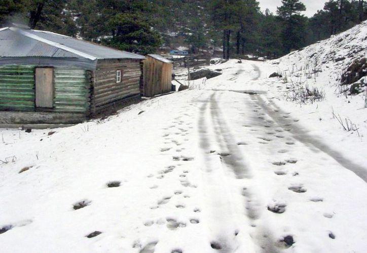 La Rosilla (foto), en Durango, es una de las poblaciones donde en los últimos días ha bajado más la temperatura. Ahora se aproxima la primera tormenta invernal del año. (Notimex)